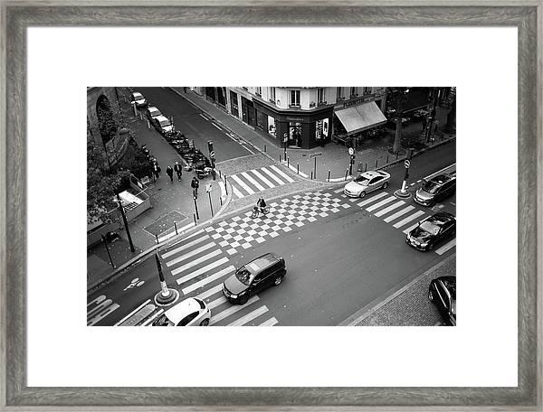 Checkmate, Paris Framed Print