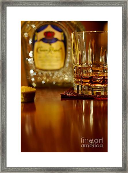Framed Print featuring the photograph Cheers by Lois Bryan