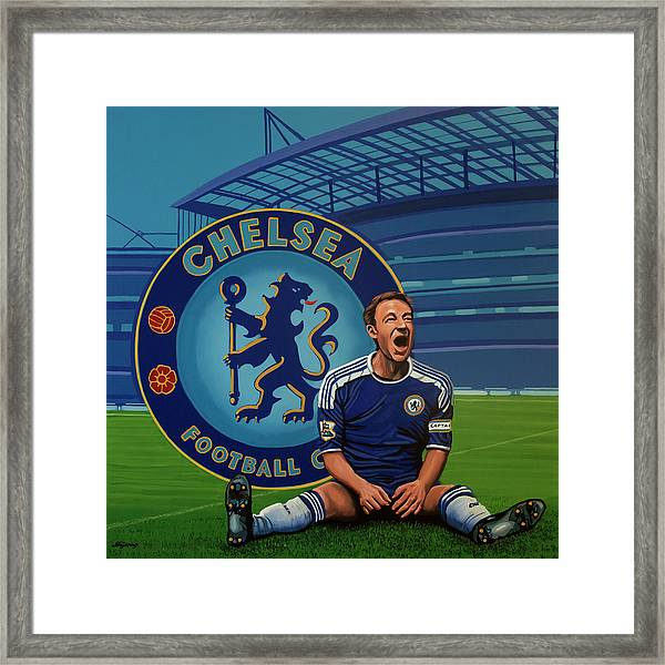 Chelsea London Painting Framed Print