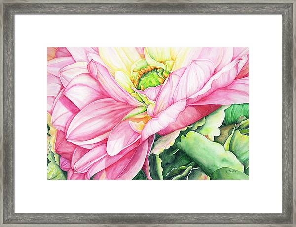Chelsea's Bouquet 2 Framed Print