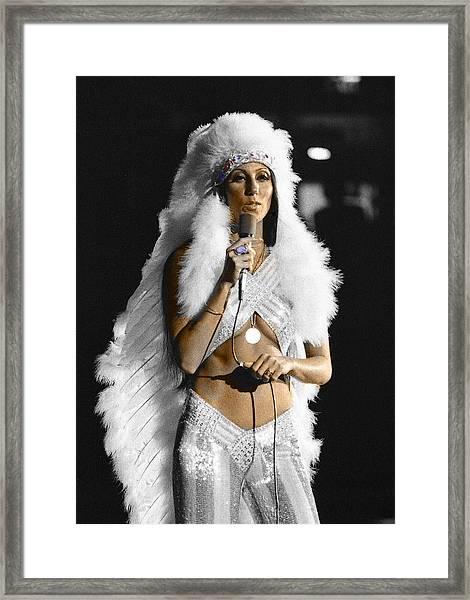 Cher #2 Framed Print