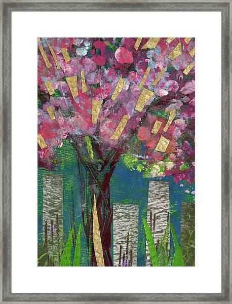 Cherry Blossom Too Framed Print