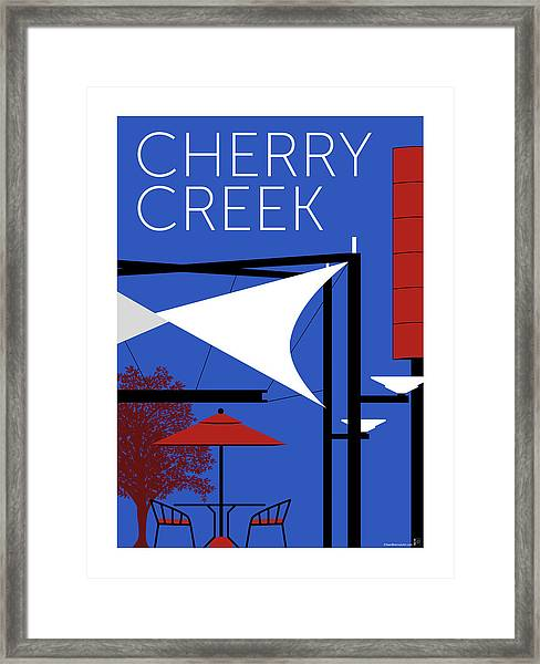 Cherry Creek Blue Framed Print
