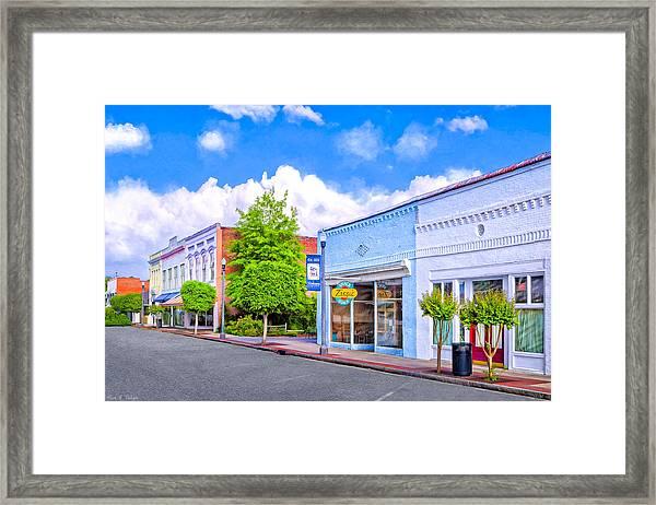 Cherry Street Special - Montezuma Georgia Framed Print