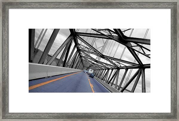 Chesapeake Bay Bridge Framed Print