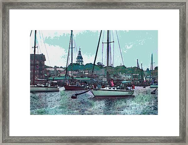 Chesapeake Bayscape Framed Print
