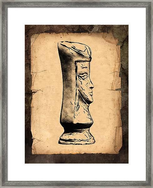 Chess Queen Framed Print