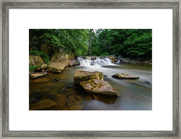 Chestnut Creek Falls  Framed Print
