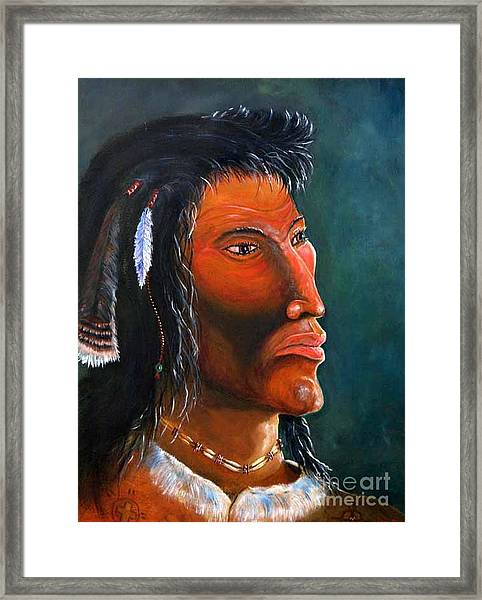 Cheveyo Spirit Warrior  Framed Print
