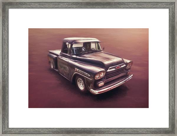 Chevrolet Apache Pickup Framed Print