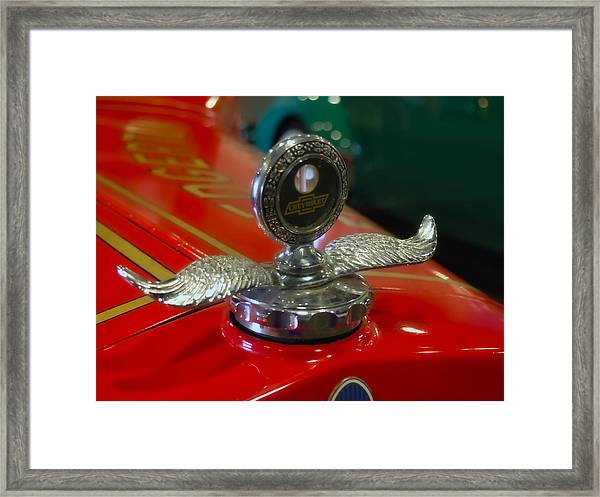 Chevrolet Wings Framed Print