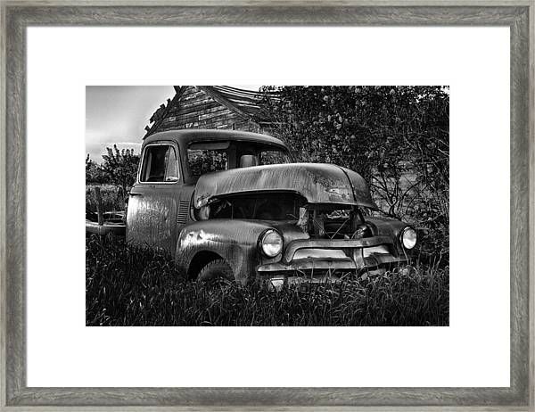 Chevy Workhorse Framed Print