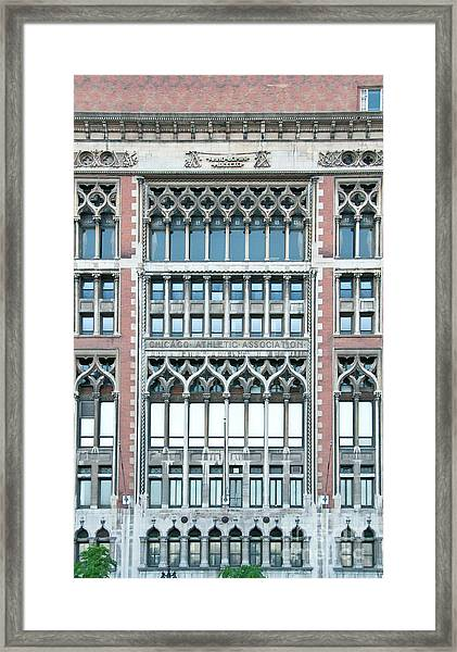 Chicago Athletic Association Framed Print