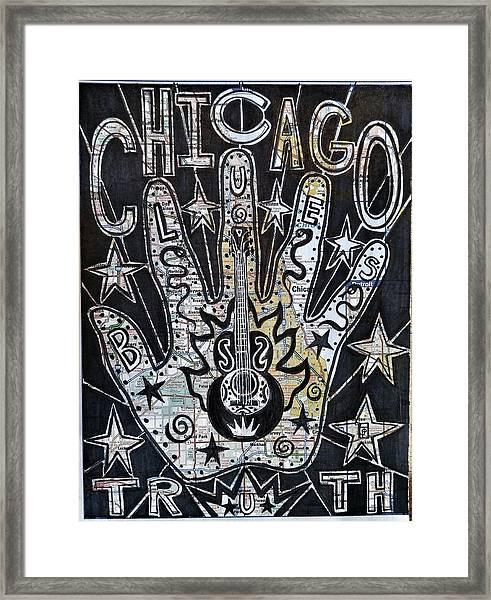 Chicago Blues Truth Framed Print