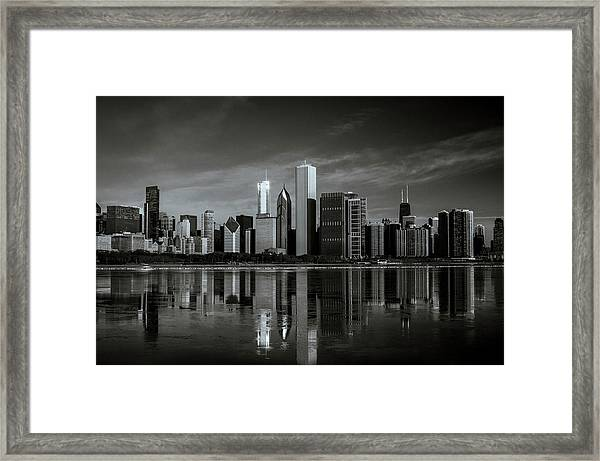 Chicago Lake Front Framed Print