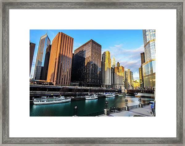 Chicago Navy Pier Framed Print
