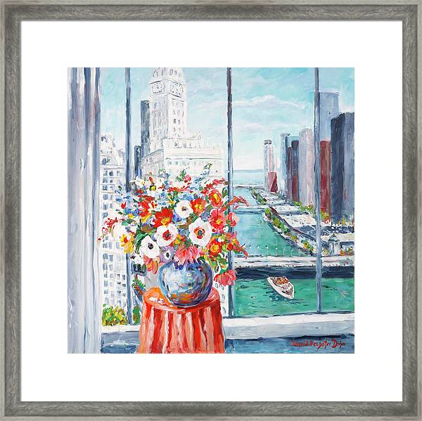 Chicago River Framed Print
