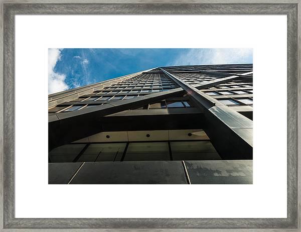 Chicago Structure Framed Print