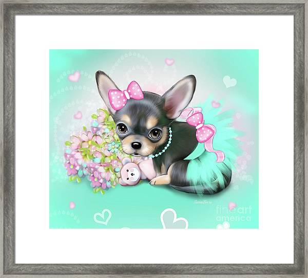 Chichi Sweetie Framed Print