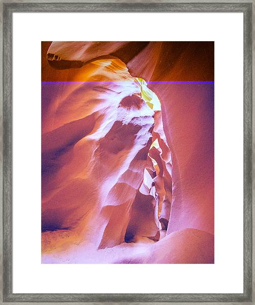 Chief Antelope Framed Print