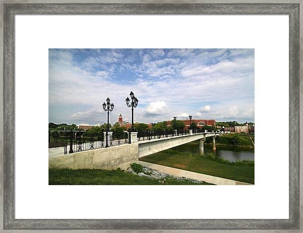 Chief John Ross Memorial Bridge Framed Print