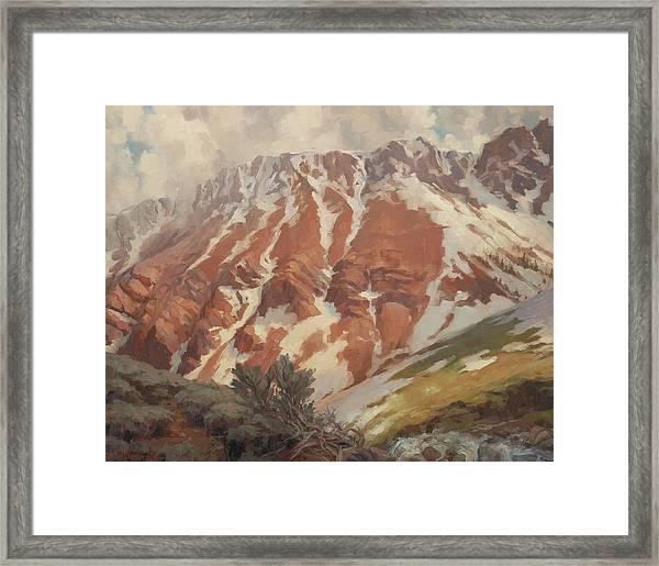 Chief Joseph Mountain Framed Print