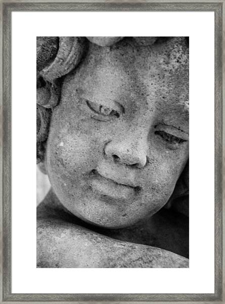 Child Gaze Framed Print