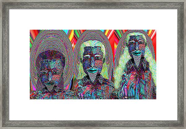 Child Is Father To The Man   Cmtmiii Framed Print