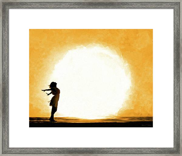 Child Of The Universe Framed Print