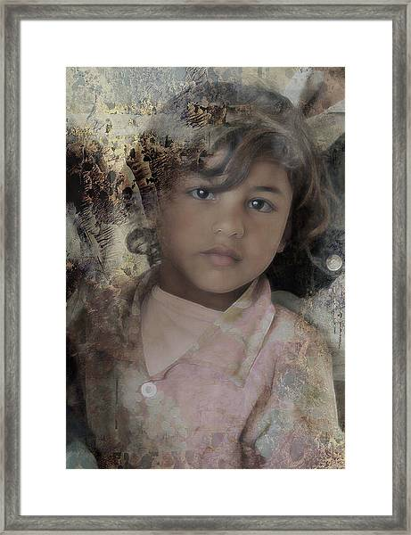 Childlike Faith Framed Print