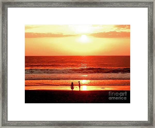 Children Framed Print