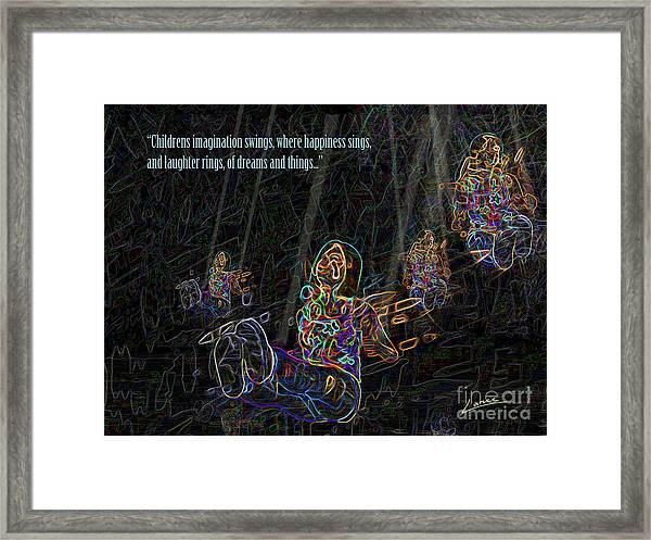 Childrens Verse Framed Print