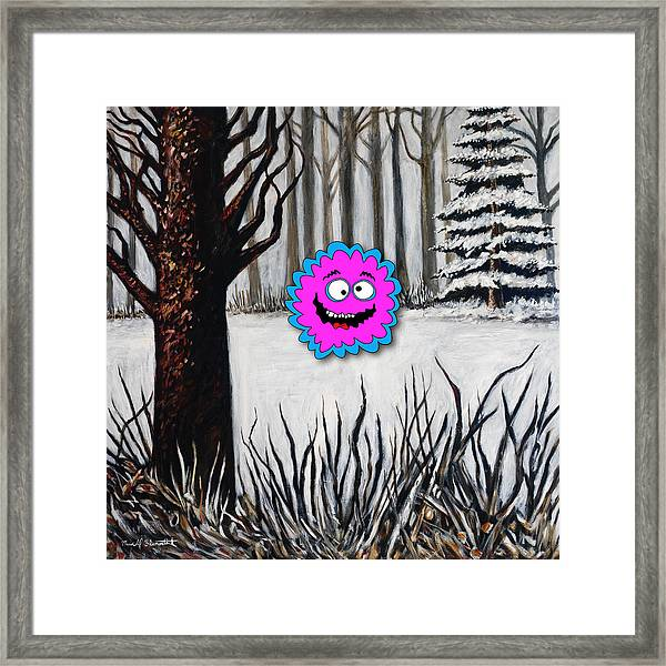 Chill Simple Framed Print