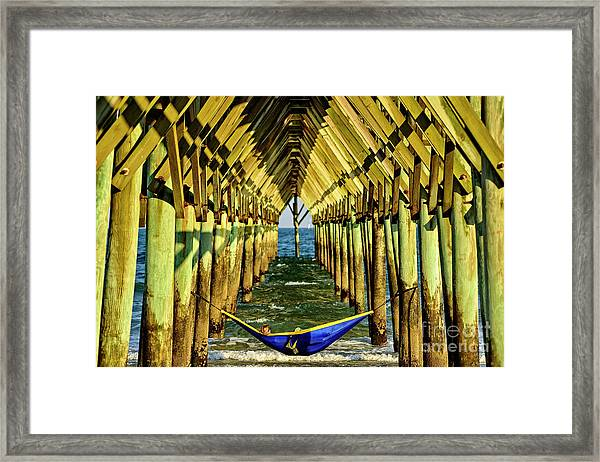 Framed Print featuring the photograph Chillin by DJA Images