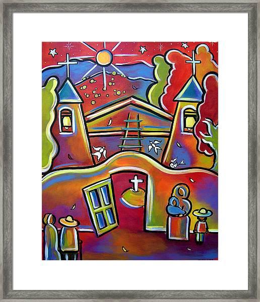 Chimayo Light Framed Print