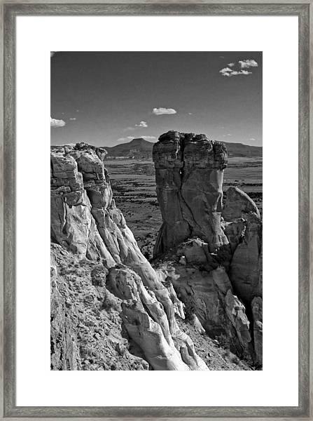 Chimney Rock And Cerro Pedernal 2 Framed Print