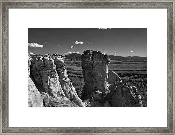 Chimney Rock And Cerro Pedernal 3 Framed Print
