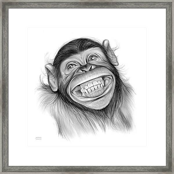 Chimpanzee Framed Print
