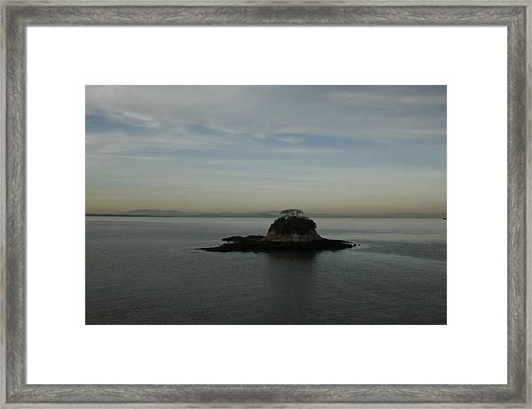 China Camp Island Framed Print