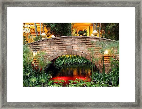 Chinese Bridge Framed Print
