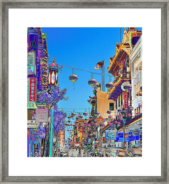 Chinese Funeral Framed Print