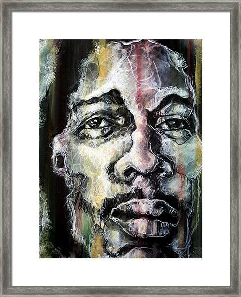 Chiseled Framed Print by Robert  Nelson