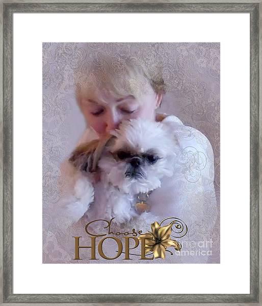 Choose Hope Framed Print