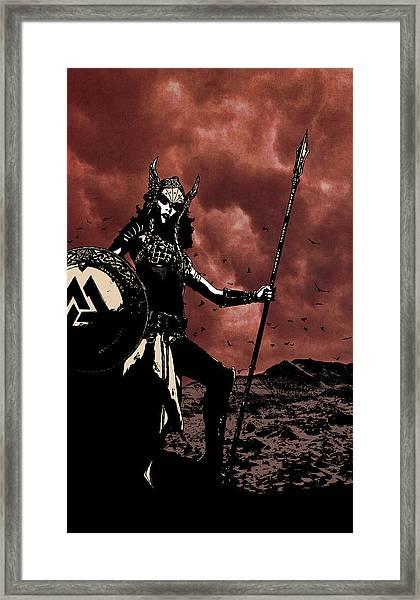 Chooser Of The Slain Framed Print