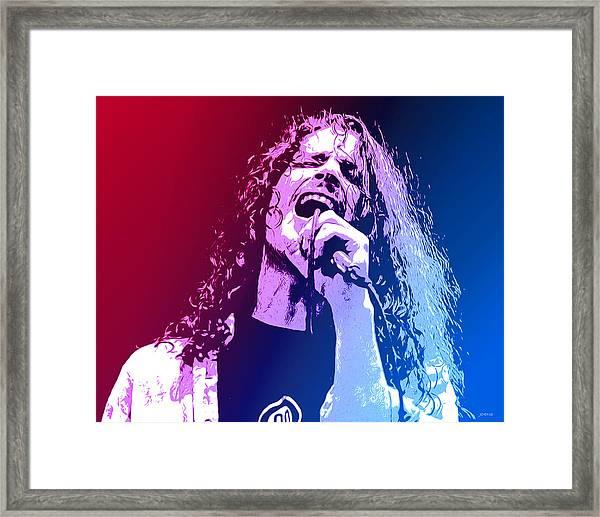 Chris Cornell 326 Framed Print