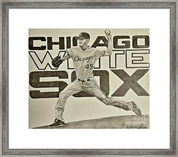 Chris Sale Framed Print
