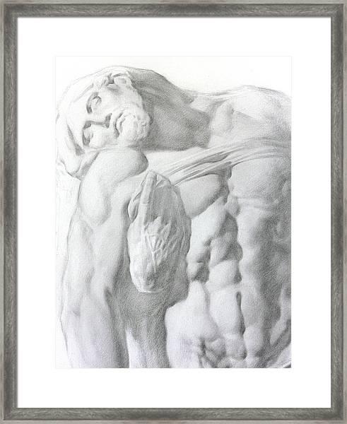 Christ 1a Framed Print by Valeriy Mavlo