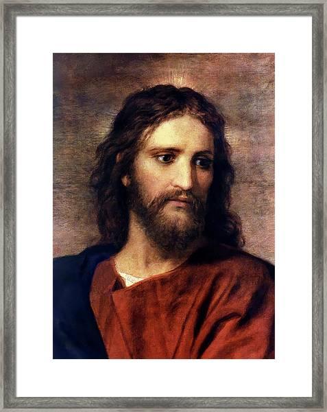 Christ At 33 Framed Print