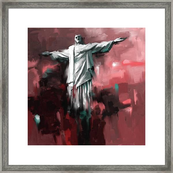 Christ The Redeemer 429.2 Framed Print