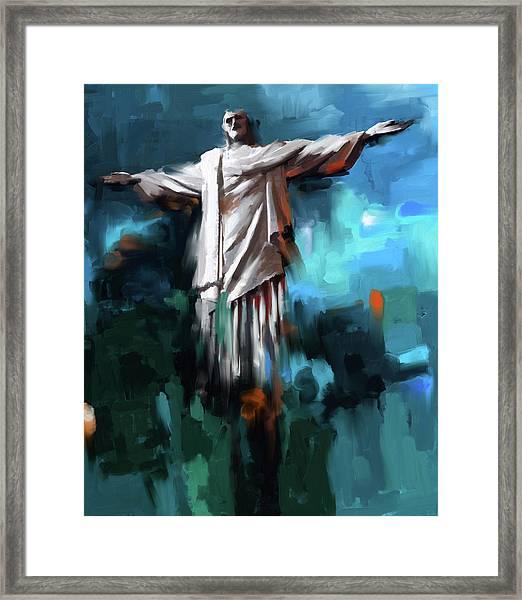 Christ The Redeemer 429.3 Framed Print